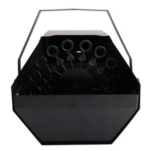 25W AC110V Mini Bubble Machine Fácil de transportar iluminación de escenario para boda / barra / escenario Bubble Bubble Máquinas de iluminación