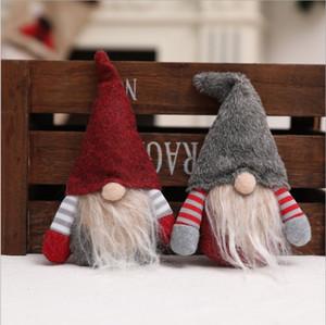 gesichtslos Weihnachten Anhänger Dekoration kreative Puppeart gesichtslosen alten Mann-Anhänger