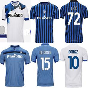 Nuovi Atalanta maglie calcio MURIEL 2020 2021 Atalanta BC maglia da calcio DUVAN casa lontano maglia da calcio Pašalić Uomini Kit GOMEZ uniforme