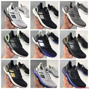 2020 Ultra Boosts'un 6 0,0 20 Konsorsiyum Koşu Ayakkabı Ultraboost 19 Ultraboost Uncaged Oreo Bulut Beyazı Siyah Kadın Erkek Sneakers Traine