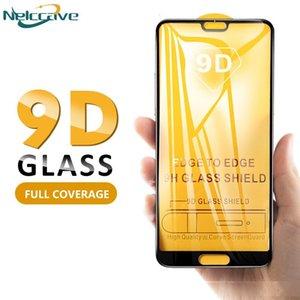 Mejor protector de pantalla de vidrio templado para el Huawei disfruta de todo recubierto de color de vidrio templado de s7e película protectora