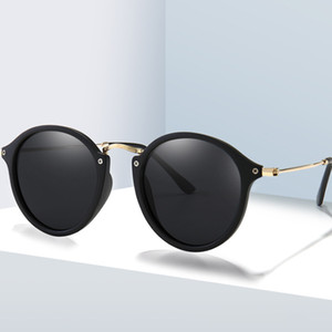 Brand Design Polarized Sunglasses Retro Round Shades Women Men Driving Sun Glasses UV400 Eyewear Oculos de sol