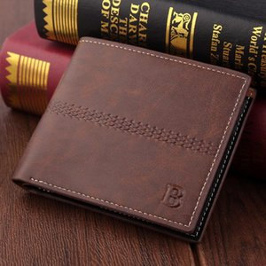 Men Wallet Credit Card Holder Business Short Mens Wallets For Man Coin Purse Male Wallet Small Clutch Bag