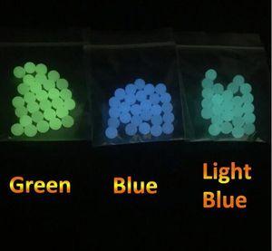 Hot Selling 6mm 8mm Quartz Terp Pearls Luminous Glowing Quartz Dab Balls For Spinning Caps Flat Top Quartz Banger Nails Dab Rigs FY8025