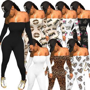 Femmes Mode Sexy Club Porter un soutien-gorge Pantalon couleur Solide Pantalon élégant Combinaison CLUBTWEAR Jumpsuits AMP PLUS ROMPORS DE TAILLE POUR FLORAL SET