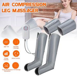 terapia circulação Ankle Boots massagem elétrica massagem de pernas compressão de ar perna cobertor CALF meias relaxar cuidados de saúde