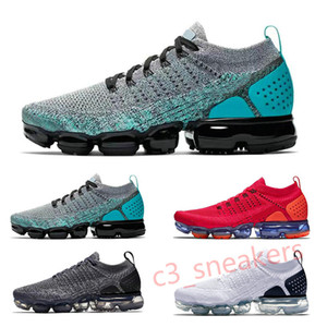 2018 Moc 2.0 Mens Running Shoes Men Women Casual Air Cushion Laceless Wheat Red Black White Dress Trainers Zapatos Sports Sneakers C5