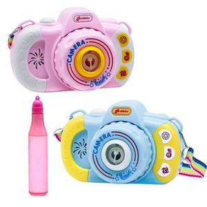 새로운 핫 스타일의 어린이 장난감, 귀여운 만화 거품 카메라, 거품 불고, 전기 음악, 빛, 거품 카메라의 모든 종류의