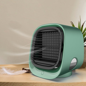 Mini Portable Air Conditioner Multi-function Humidifier Purifier USB Desktop Air Cooler Fan Arctic Air with Water Tank Home 5V