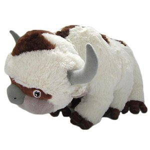 A001 50CM The Last Airbender Resource Appa Avatar Stuffed Animals Plush Doll Cow OX Toy Gift Kawaii Plush Toys Unicorn Pillow Cattle