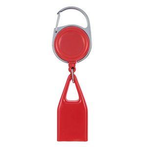 Bunte leichtere Hülle Schutzhülle Schlüsselschnalle tragbare Leine Teleskopseilschale für Zigarettenraucherpfeife Hohe Qualität PPD3389