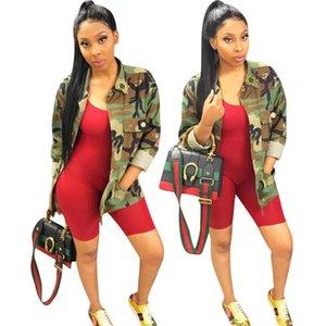 Femmes Fashion Vestes Vêtements Vêtements Couches d'hiver Chute 2020 Femmes Casual Vêtements Street Wear