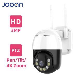 3MP PTZ Wireless IP Camera Waterproof 4X Digital Zoom Speed Dome Super 1296P WiFi Security CCTV Camera Audio Camera