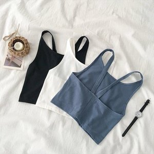 Summer Camis Women Sexy Bralette Vest Tops Female Short Style Backless Tank Girls Brief Fashion Tanks Top Bra Top