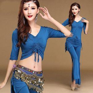 Erwachsene reizvolle modale Mesh-Eastern Oriental Bauchtanz-Kostüm-Kleid für Frauen Bauchtanz Kleidung Bauchtanz Kleidung tragen aPU1 #