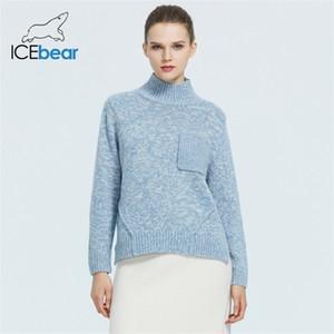IceBear 2020 de alta calidad de las señoras Suéter Cardigan Ropa para la GWS20001D Y1106