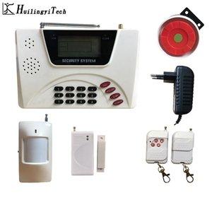 Dupla de rede GSM sem fio do alarme Home Security Alarm System Teclado kit Home System Sensor para Casa Segurança