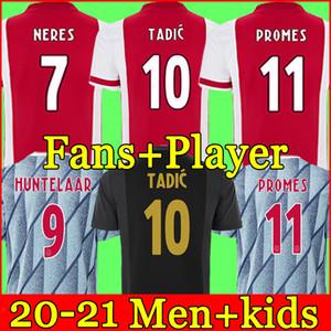 20 21 maglia da calcio AJAX amsterdam FC 2020 2021 KUDUS ANTONY BLIND PROMES TADIC NERES CRUYFF uomo kit per bambini maglia da calcio divise terzo 50 °