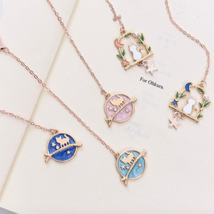 2pcs Creative Cartoon Metal Alloy Pendant Bookmark Page Clip Cute Bookmark Student Stationery Gifts Promotion Gift GG188