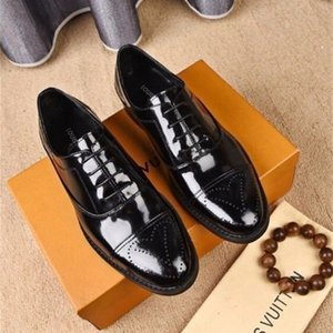 yuancheng5 Black pattern leather business shoes 207715 guan Men Dress Shoes BOOTS LOAFERS DRIVERS BUCKLES SNEAKERS SANDALS