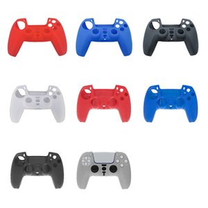 2021 New Soft Protective Cover Silicone Case Skin for Playstation 5 PS5 controller Gamepad Protector 2 styles DHL FREE SHIPPING
