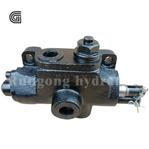 Distributor Divider Dump Truck Lift Valve Pneumatic Control Same to HYVA Manual Tipper Hydraulic PT Handle Air Operated Camion