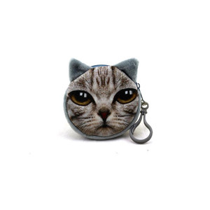 Cat Coin Purses Fashion Clutch Purses Coin Purse Bag Wallet Cute Cat Change Purse Meow star Kitty Small Bags Pussy Wallet BY DHL