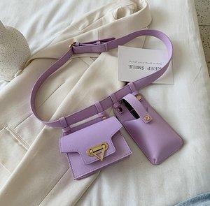 Ins Women Chest Bag Girls Waist Bag Versatile Fashion Shoulder Phone Bags Crossbody Lady Belt Waist
