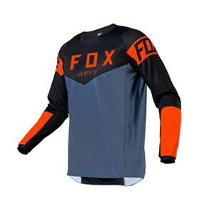 New Racing Dounthill Джерси Горный велосипед Велоспорт Джерси Кроссмакс Рубашка Ciclismo Одежда для MTB HPIT Fox Мотоцикл Джерси Мужчины Q1222