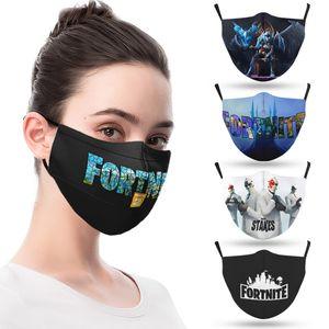 Tasarımcı Moda Yüz Maskeleri Yetişkin Maske Oyunları Baskılı Maskeleri Kullanımlık Yıkanabilir Toz Geçirmez Moda Unisex Erkekler Ağız Maskesi