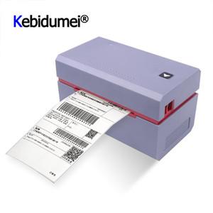 3 pulgadas de etiquetas térmicas impresora electrónica Hoja de ruta expreso Impresora de etiquetas de código de barras del producto QR Code Etiqueta Mini USB
