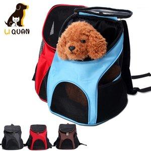 Katze Haustier Hund Rucksack Outdoor Carrier Out Rucksack Bag1 Mesh Portable Reißverschluss Packtasche Pet Travel Knapsack Träger Atmungsaktiv Uwpnx