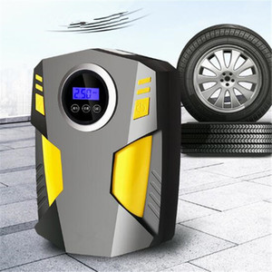 Car Portable Air Copressor Pump Digital Tire Inflator 150 PSI 120W Auto Air Pump for Car Motorcycle LED Light Tire Pump