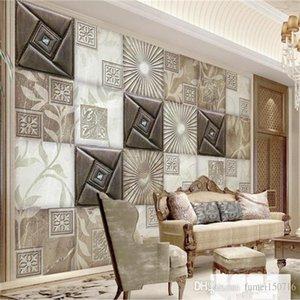 moda moderna Stereoscopic 3D Wallpaper mármore suave textura Desktop Wallpaper 3D Sala Quarto Início parede Decor Wallpaper