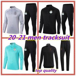 2020 2021 Algérie survêtement adulte MAHREZ football 20 21 BOUNEDJAH Survetement maillot de foot FEGHOUL sportswear costume d'entraînement de football