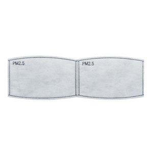 Фильтр Вставка для Унисекс Бытовая РМ2,5 Бумага Haze Рот маска Фильтры Здоровье Защита Сменная Cosjk