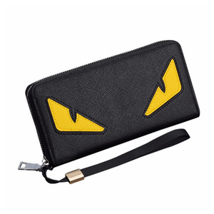 Cross-shaped monster wallet men and women long zipper MULTIPLE handbag mobile phone bag card wallet