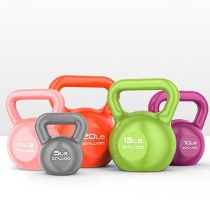 Kettle für Fitness Kettle Gewichte Kugelfitnessgeräte Hanteln Exercise Training Tools Hebe Pot