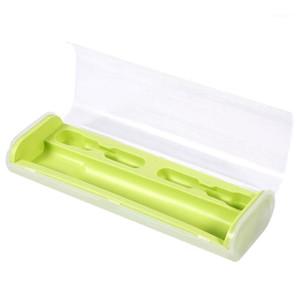 Tragbare elektrische Zahnbürste Halterung Fall Box Reise Camping für Oral-B 4 Farben (grün) 1