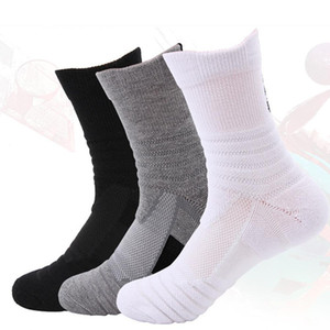 Men's Outdoor Sports Bicycle Riding Socks, Sweat-absorbent, Non-slip Basketball Badminton Running Socks