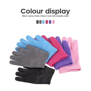Gel Spa Silicone Gloves Colorfull Soften Whiten Exfoliating Moisturizing Treatment Hand Mask Care Repair Hand Skin Beauty Tools