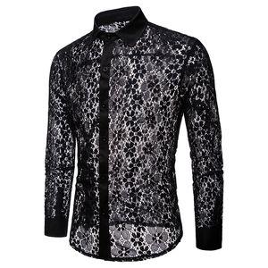 2020 new designers t shirts mens camisa de diseñador plaid shirt men shirt chemises de marque pour hommes men casual dress shirts lace white