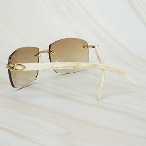 70% de descuento para gafas de sol Buffalo Blanco Gafas grandes Huellas dactilares Carter Decoración de la decoración de las mujeres de gran tamaño Nuevo BGUXX