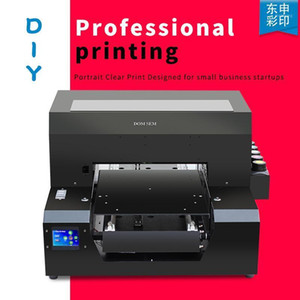 DOMSEM Digital A3 UV Printers for Phone Case Pen PVC Card Photos With Two Years Warranty Flatbed Print Machine1