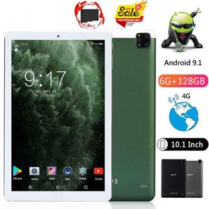 Tablet PC 2021 Octa Core 10 Inch Real Ram 6GB Rom 128GB 8.0MP 5000mAh 1280*800 IPS Android 9.0 4G Call Phone Tablets1