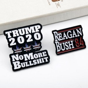 New Biden 2020 Brooch Collar Pin Trump 2020 Brooches Badges For President Election Supporters Metal Pins Button Jewelry sqcAnn queen66