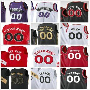 Custom Impresso Kyle 7 Lowry Fred 23 Vanvleet Pascal 43 Siakam OG 3 Anunoby Chris 25 Boucher Norman Powell Homens Mulheres Kids Basketball Jerseys