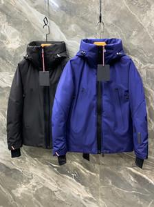 2020 Designer di alta qualità di alta qualità Vendita calda Nuovo uomo invernale caldo moda casual colore solido mens lungo piumino piumino di parka cappotti Euro S-XXL