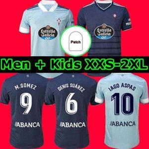 20 21 VIGO CELTA S.MINA 2020 2021 2003 Denis Suárez Celta de Vigo Home Away Kids Retro Soccer Jersey Mostovoi Iago Aspas Camiseta de Futol
