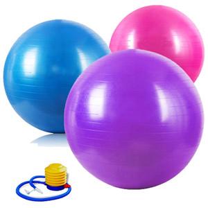 Yoga balance Ball Thick Explosion Proof Massage Balls Bouncing Gymnastic Exercise Yoga fitness Anti-Burst Thick Explosion Proof Wholesale